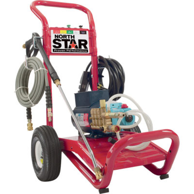 NorthStar Electric Cold Water Pressure Washer - 3,000 PSI 230 Volt