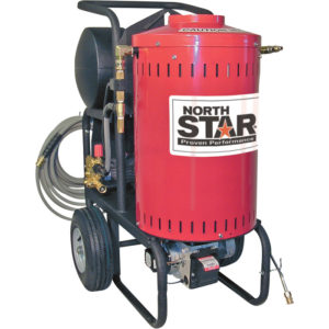 NorthStar Electric Wet Steam & Hot Water Pressure Washer - 1700 PSI 115 Volt