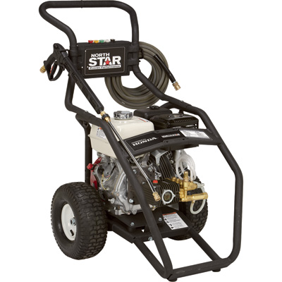 NorthStar Gas Cold Water Pressure Washer - 4000 PSI, 3.5 GPM, Honda Engine